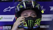 MotoGp Australia, Rossi: «Ho ancora dolore alla spalla»