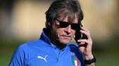L'Italia in ritiro alla Pinetina per lo spareggio