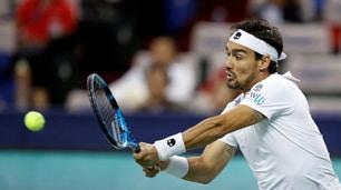 Tennis, Svezia: Fognini sfiderà Sock in semifinale