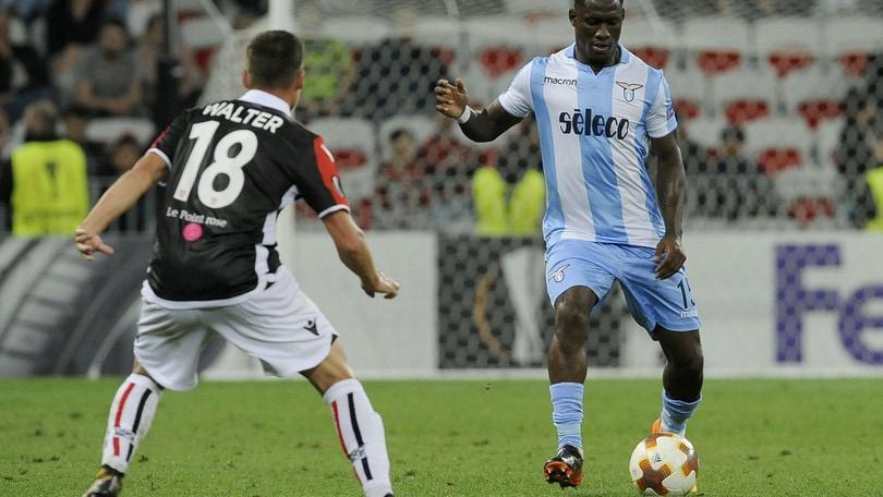 Europa League Nizza-Lazio 1-3, il tabellino