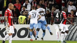 Europa League, Nizza-Lazio 1-3: Caicedo e Milinkovic show
