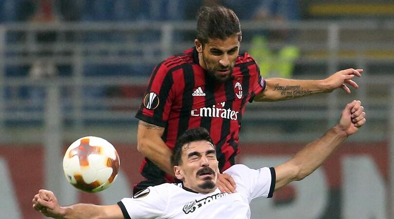 Europa League, Milan-Aek Atene 0-0: pari deludente, San Siro fischia