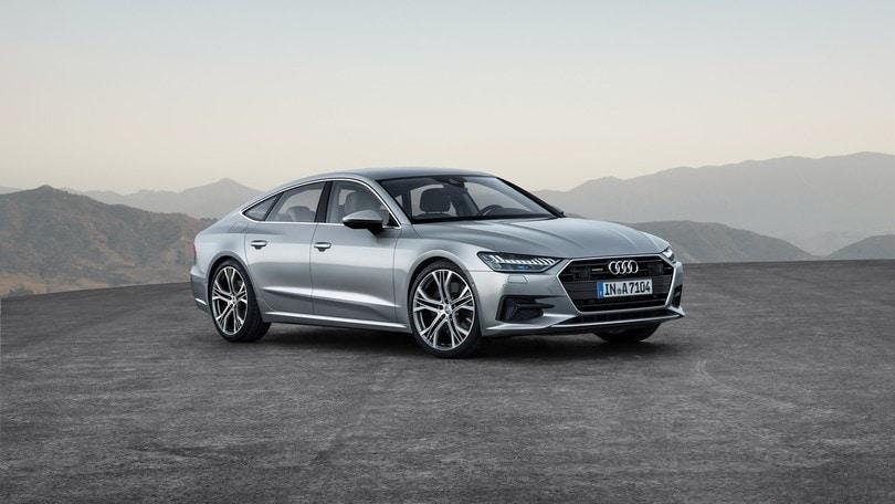 Audi A7 Sportback, l'asticella sale sempre più su