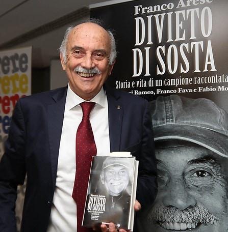 'Divieto di Sosta' il libro su Franco Arese