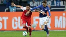 Bundesliga: brilla Goretzka, lo Schalke supera 2-0 il Mainz