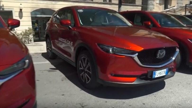 Mazda CX-5, il Suv medio fuori ma grande dentro