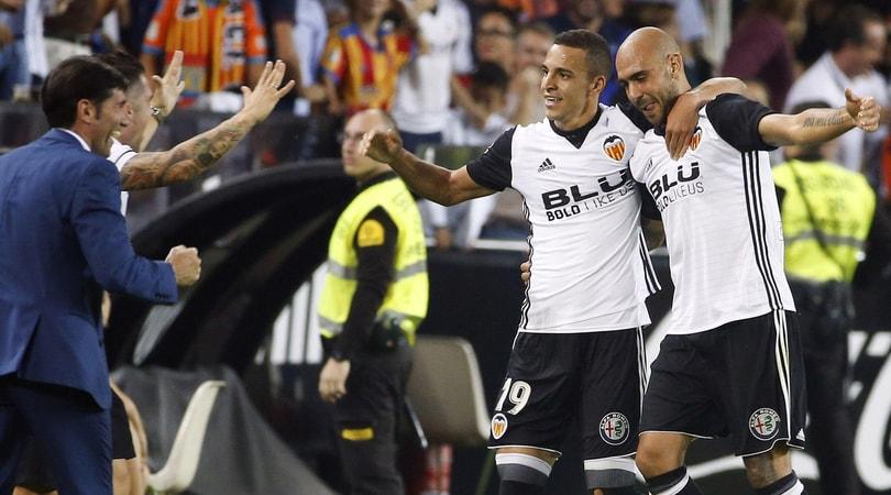 Siviglia ko, il Valencia ingrana la quinta: Zaza ancora in gol