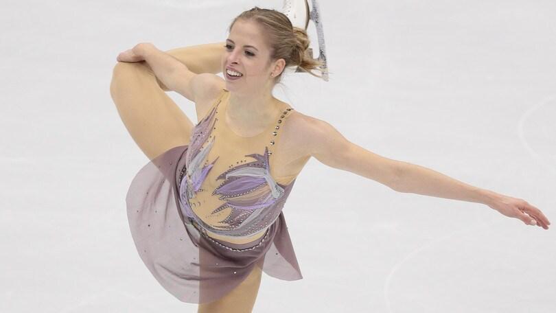 Splendida Carolina Kostner: a Mosca seconda nel corto