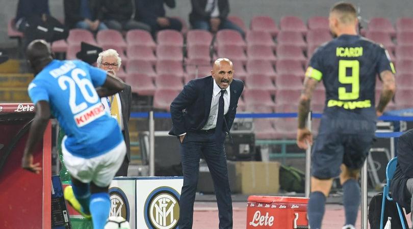 Inter, Spalletti: «A volte i giocatori del Napoli sembrano i figli di Goldrake»