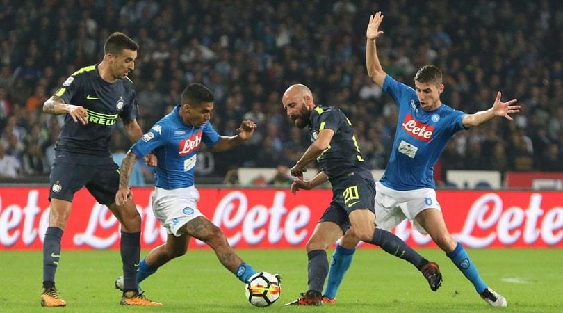 Napoli-Inter, il pari cambia poco per Sarri