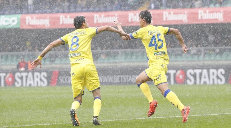 Chievo-Verona 3-2, cuore Hellas ma Maran fa festa col tandem Inglese-Pellissier