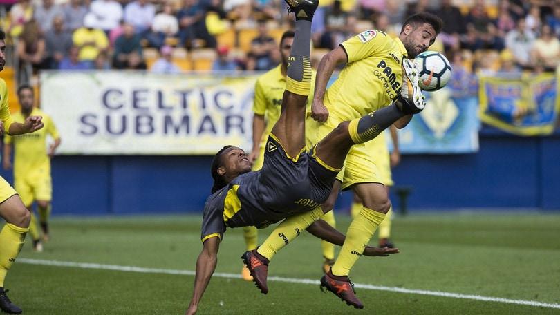 Villarreal, 4-0 al Las Palmas: Aquilani entra solo al 70'