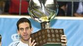 Tennis, Stoccolma: vince Del Potro, battuto Dimitrov in finale