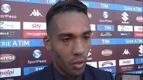 "Juan Jesus: ""Concesso poco al Torino"""