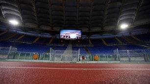 Lazio-Cagliari, chiusa la Curva Nord all'Olimpico