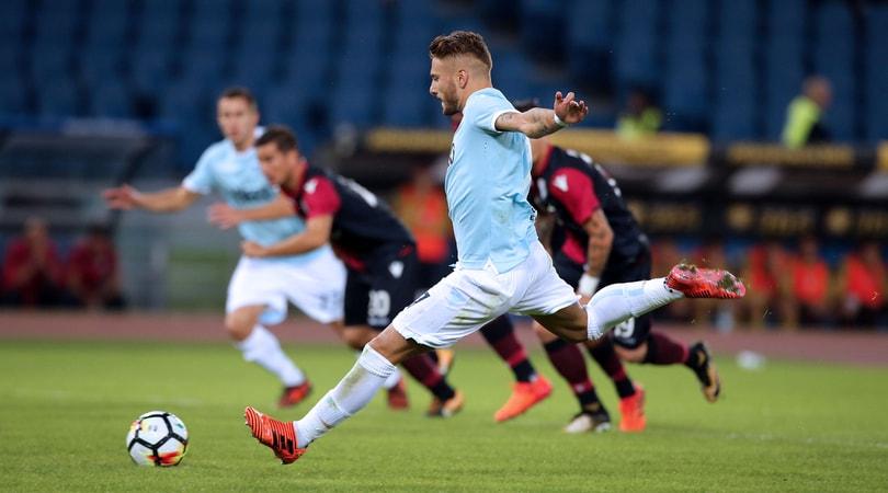 Serie A, Lazio-Cagliari 3-0: Immobile fa 13, poi chiude Bastos