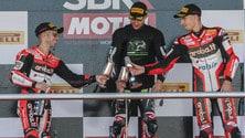 Superbike Jerez, Melandri: «Secondo posto come una vittoria»