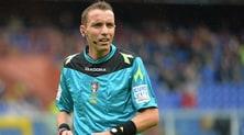Serie A, gli arbitri della 10ª giornata: Genoa-Napoli a Mazzoleni
