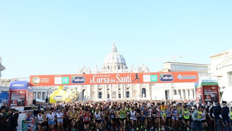 Giusy Versace alla Corsa dei Santi l'1 Novembre