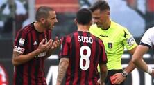 Milan, niente ricorso: Bonucci salterà due gare