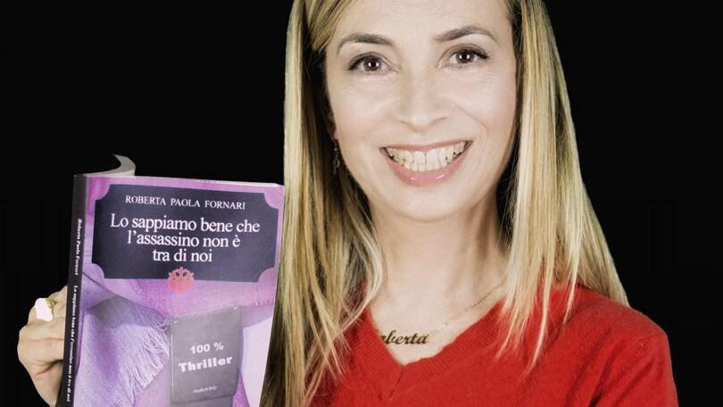 """Roberta Paola Fornari presenta il suo libro a """"Con una rosa"""""""