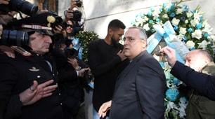 Lazio, Lotito in Sinagoga con Wallace e Felipe Anderson