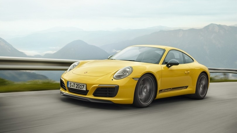 Porsche 911 Carrera T, inno all'essenzialità