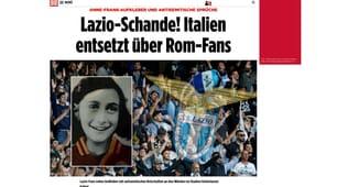 Ultras Lazio e Anna Frank, il caso sui giornali stranieri