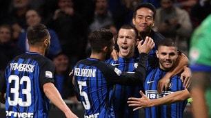 Inter-Sampdoria 3-2, Spalletti vola in vetta