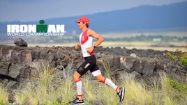 Daniel Fontana all'Ironman delle Hawaii