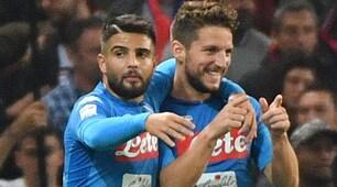 Serie A, Genoa-Napoli 2-3: Mertens show a Marassi