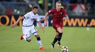 Serie A, Roma-Crotone: esordio per Karsdorp