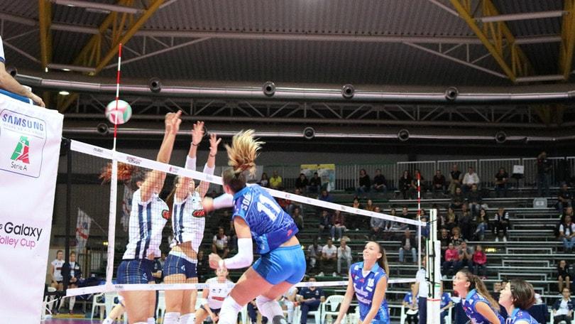 Volley: A2 Femminile, Olbia supera il Club Italia al quinto set