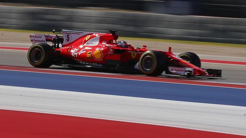 F1, Gp Messico: Vettel, scatto d'orgoglio a 2,50