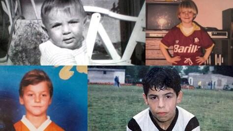 Le stelle del calcio da bambini: indovinate chi sono!