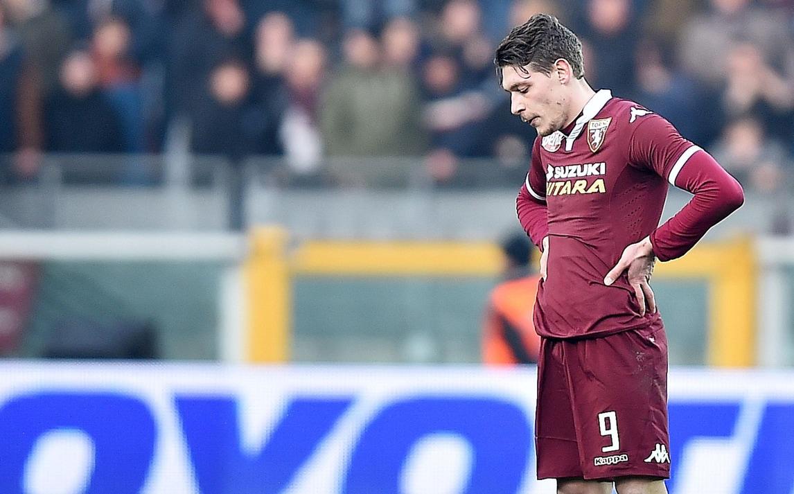 Serie A Torino, Belotti lavora in parte col gruppo