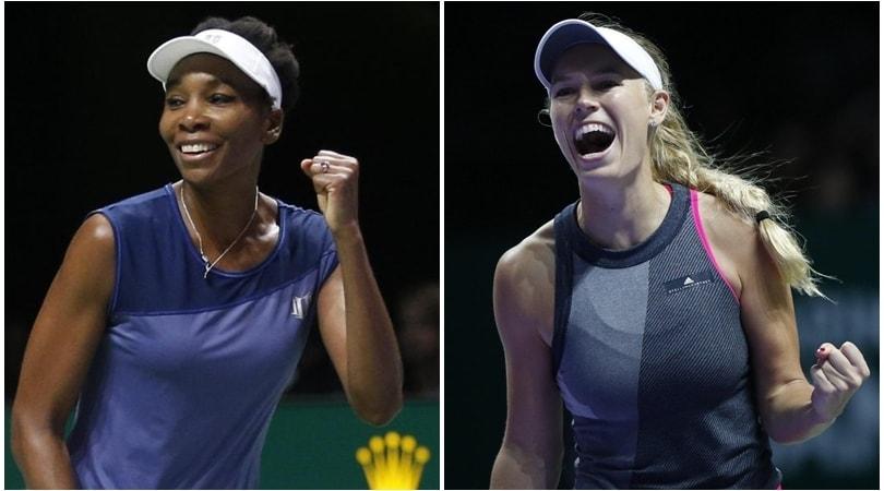 Wta Finals: Venus-Wozniacki per il titolo, Halep chiude l'anno da regina