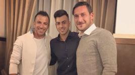 """El Shaarawy festeggia il suo compleanno: gol e cena tra """"Legends"""""""