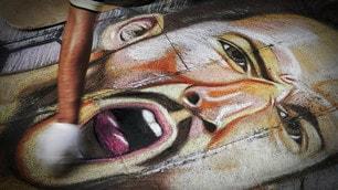 """Mertens come la Madonna: il suo volto diventa """"sacro"""""""