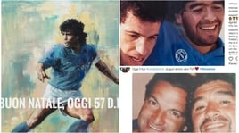 Maradona compie 57 anni: sui social gli auguri di ex compagni e tifosi