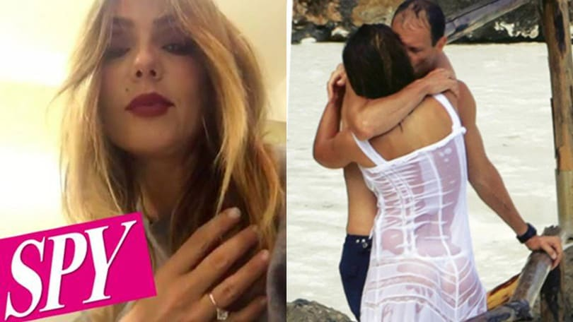 «Allegri brucia le tappe: Ambra mostra l'anello di fidanzamento»