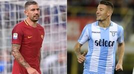 Roma-Lazio, Trigoria e Formello si svuotano prima del derby
