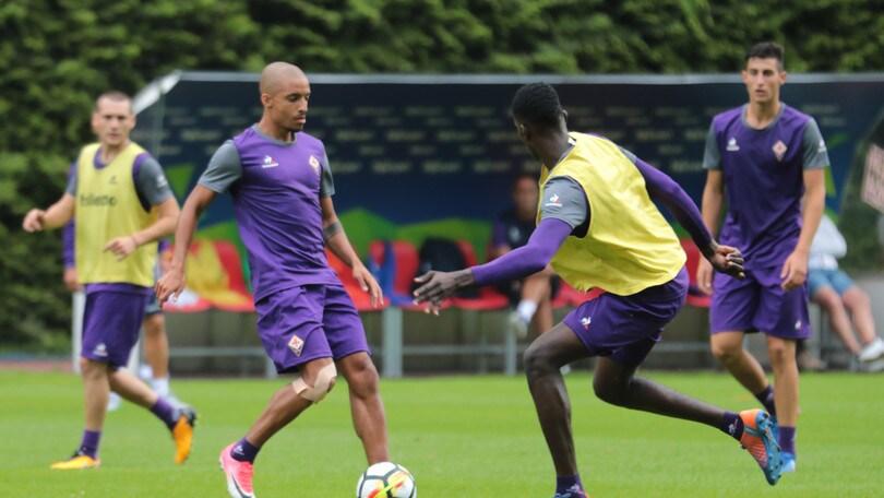 Serie A Fiorentina, si scaldano Vitor Hugo e Bruno Gaspar