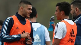 Colombia-Argentina: altra panchina per Dybala, Icardi in campo
