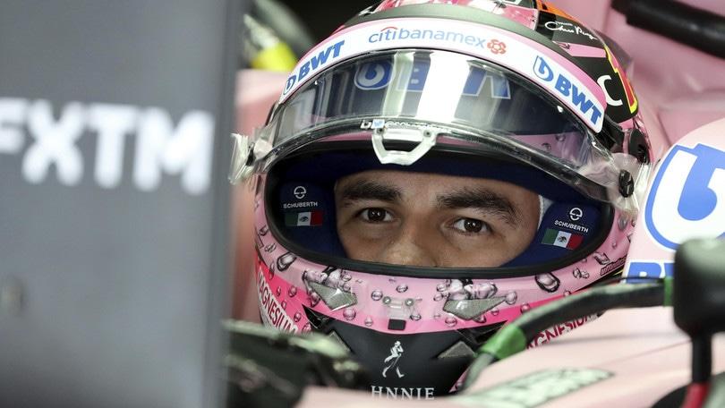 Gp Usa: Perez salta il controllo peso, partirà dalla pit-lane