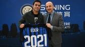 Inter, Eder rinnova fino al 2021
