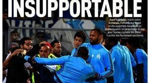 Evra come Cantona, calcio in faccia a un tifoso: rischia di chiudere la carriera?