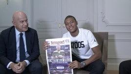 Golden Boy: Il backstage dell'Intervista esclusiva a Kylian Mbappé