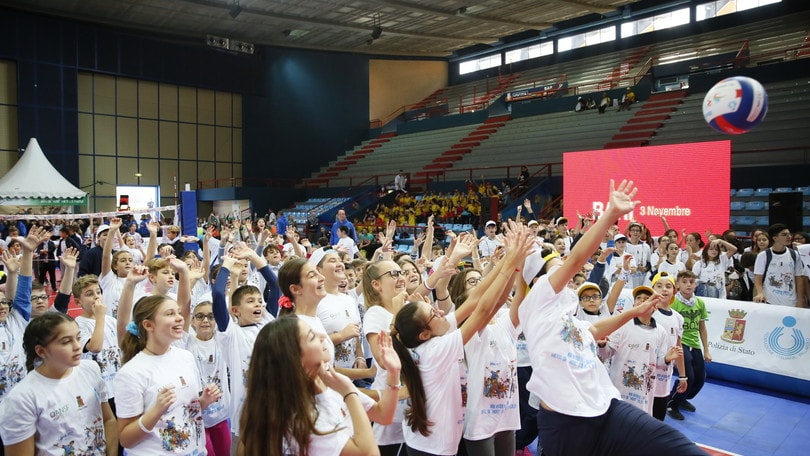 "Volley: in 2500 al PalaFlorio per ""Gioca Volley S3… in sicurezza"""