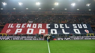 Genoa-Sampdoria, che coreografie a Marassi per il derby!